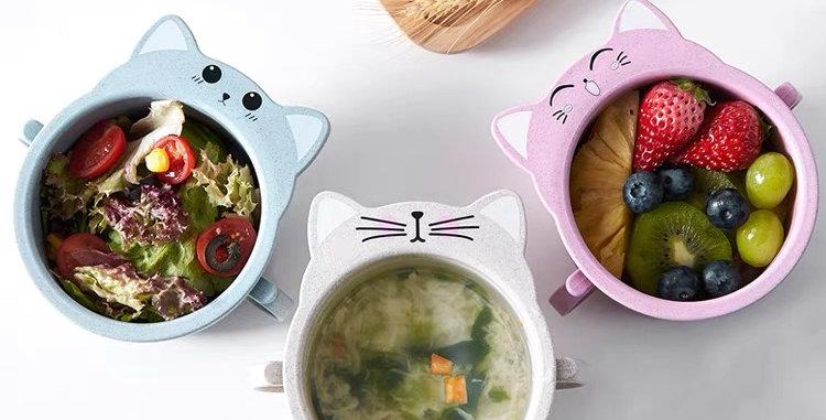 Bowl Infantil  - Material Biodegradable - Ecológico
