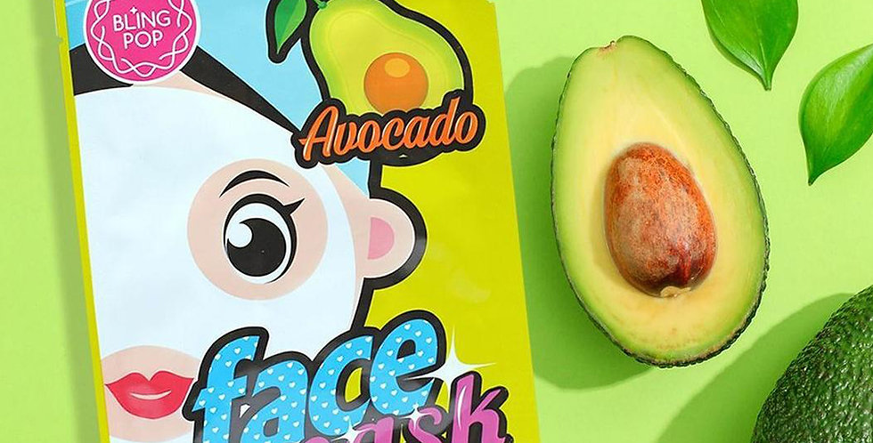 Bling Pop Face Mask Avocado - 20ml