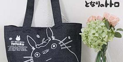 Bolso De Mi Vecino Totoro Original De Japón ( Denim-jean )