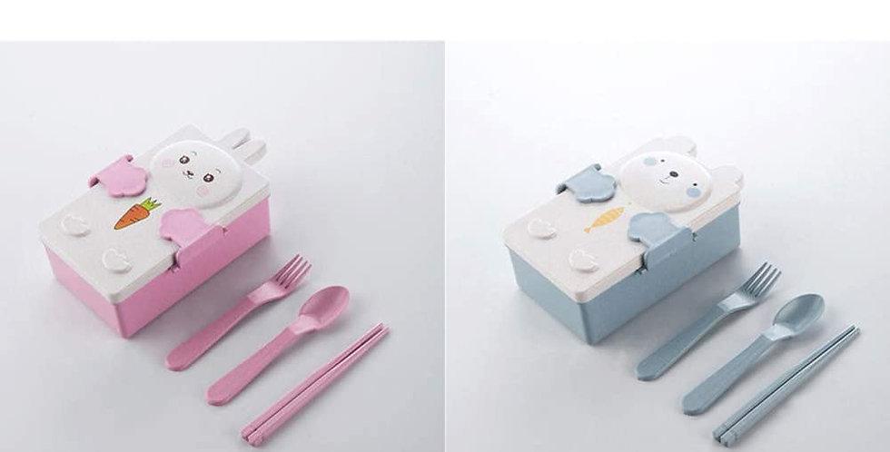 Lunchera-vianda -  Infantil- Biodegradable- Ecologico