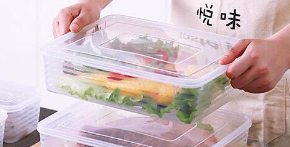 Contenedor para heladera organiza alimentos  2,5ml