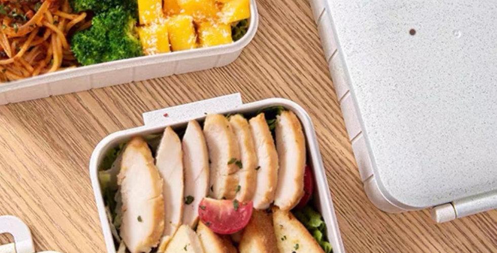 Lunchera-Vianda-Tupper Biodegradable Ecologico - Fibra deTrigo
