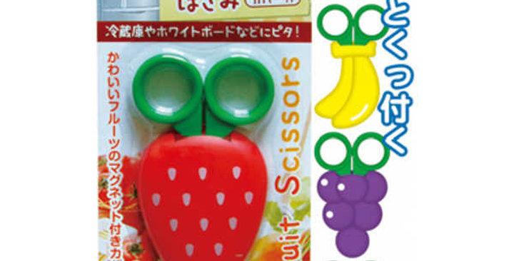 Tijeras Con Imanes Diseño Frutas Para Cocina O Manualidades