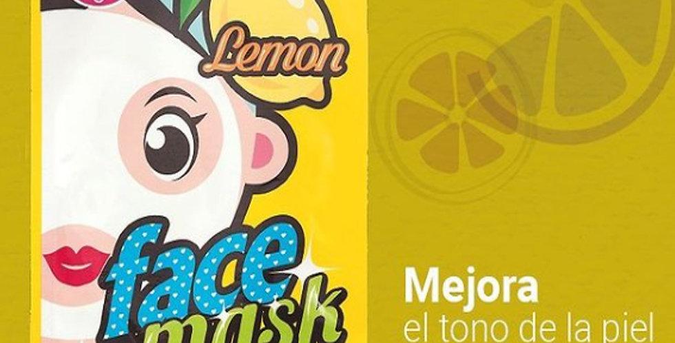 Bling Pop Face Mask Lemon - 20ml