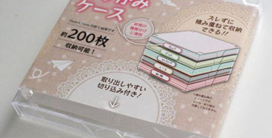 Origami-importado De Japón Caja Guardar Papel Origami