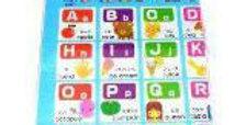 Abecedario palabras en ingles y japones