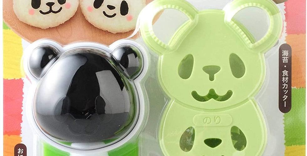 Molde de onigiri (rice balls) modelo Panda.