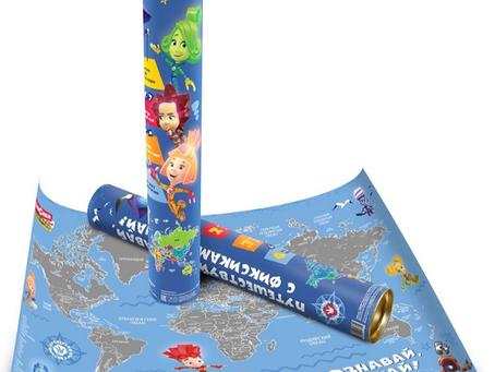 «Фиксики» появились на географической карте