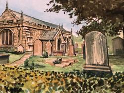 Into The Village Churchyard