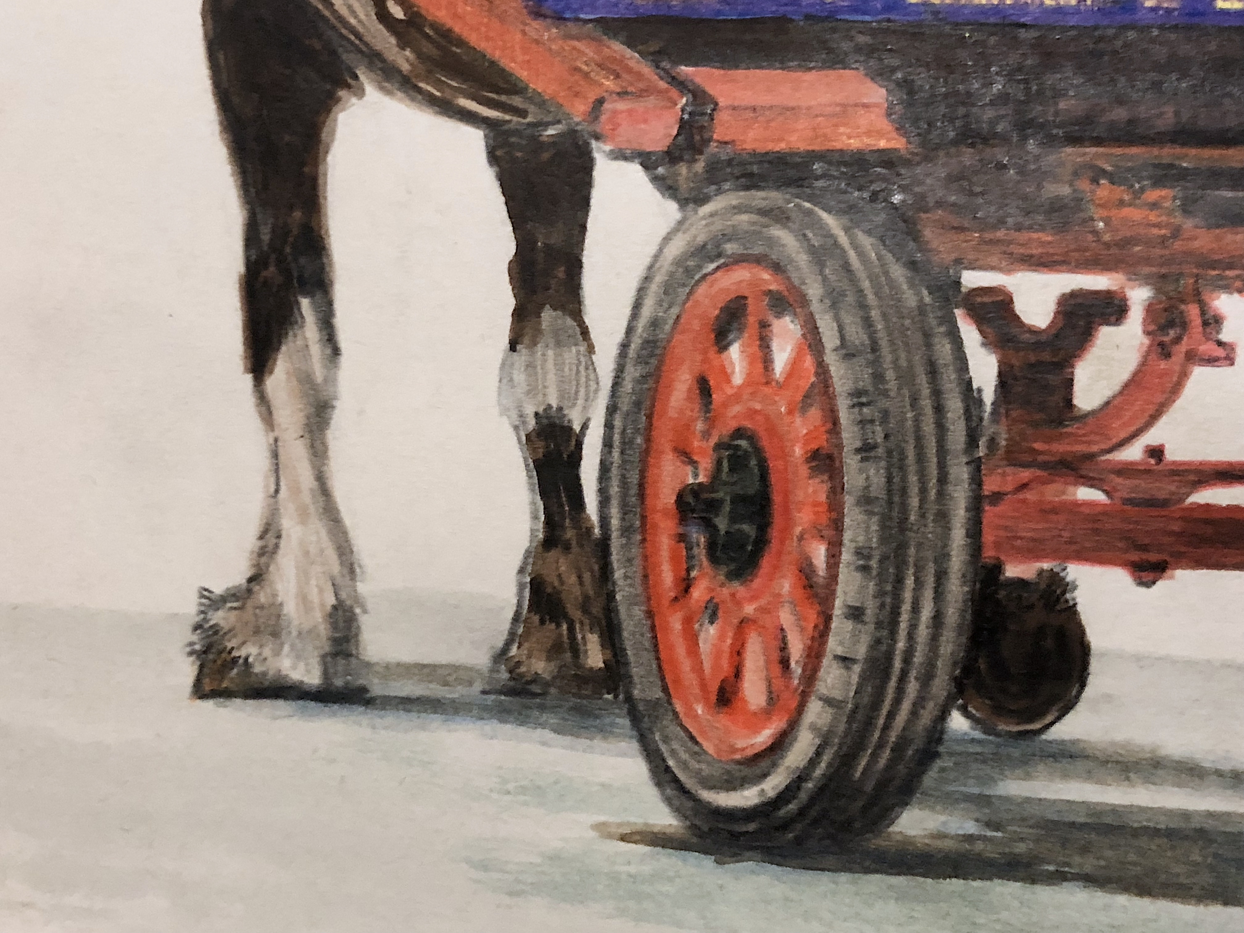 Festival Shire Horse Cart Ride