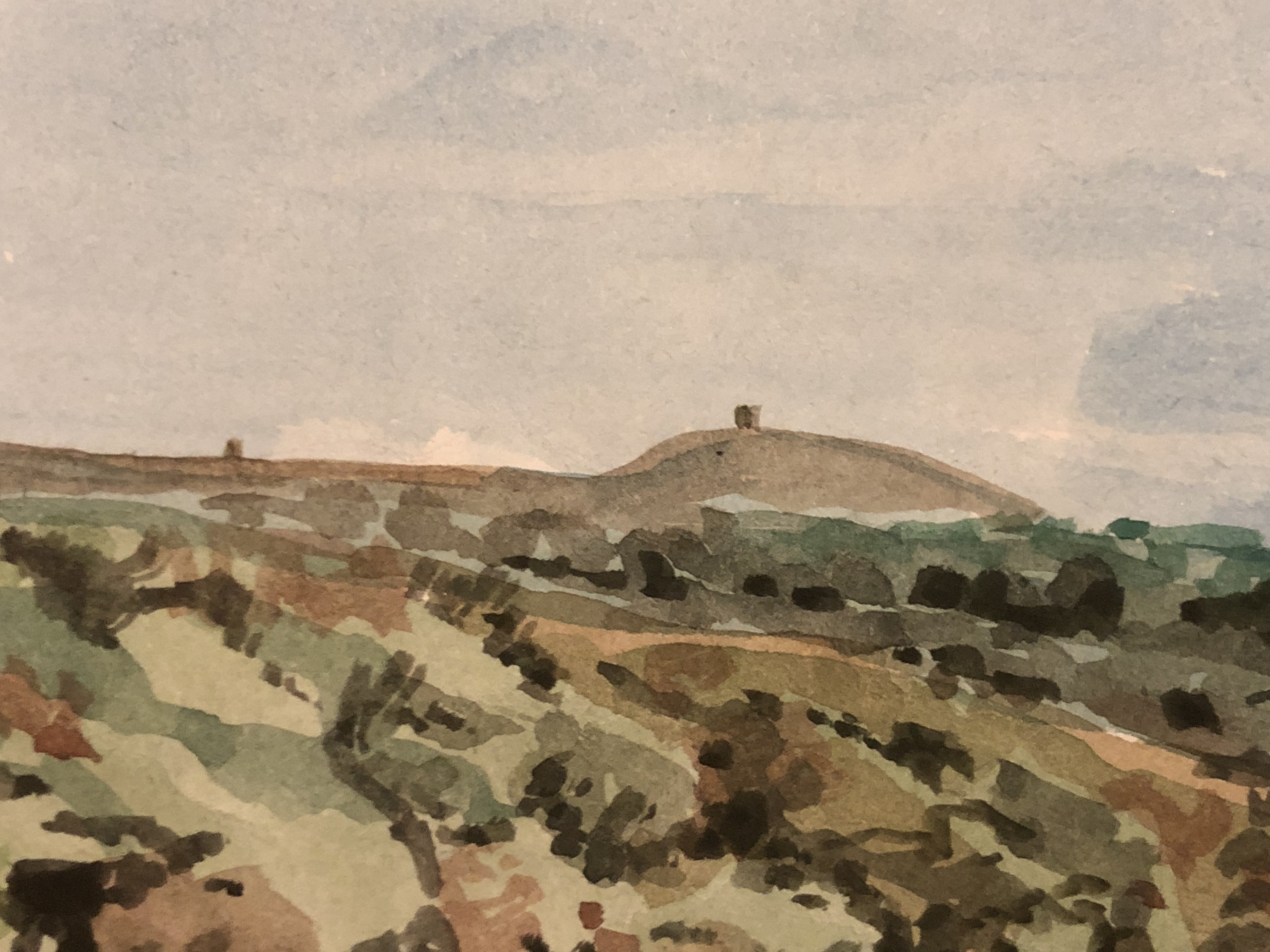 View Out To The Pike, Rivington