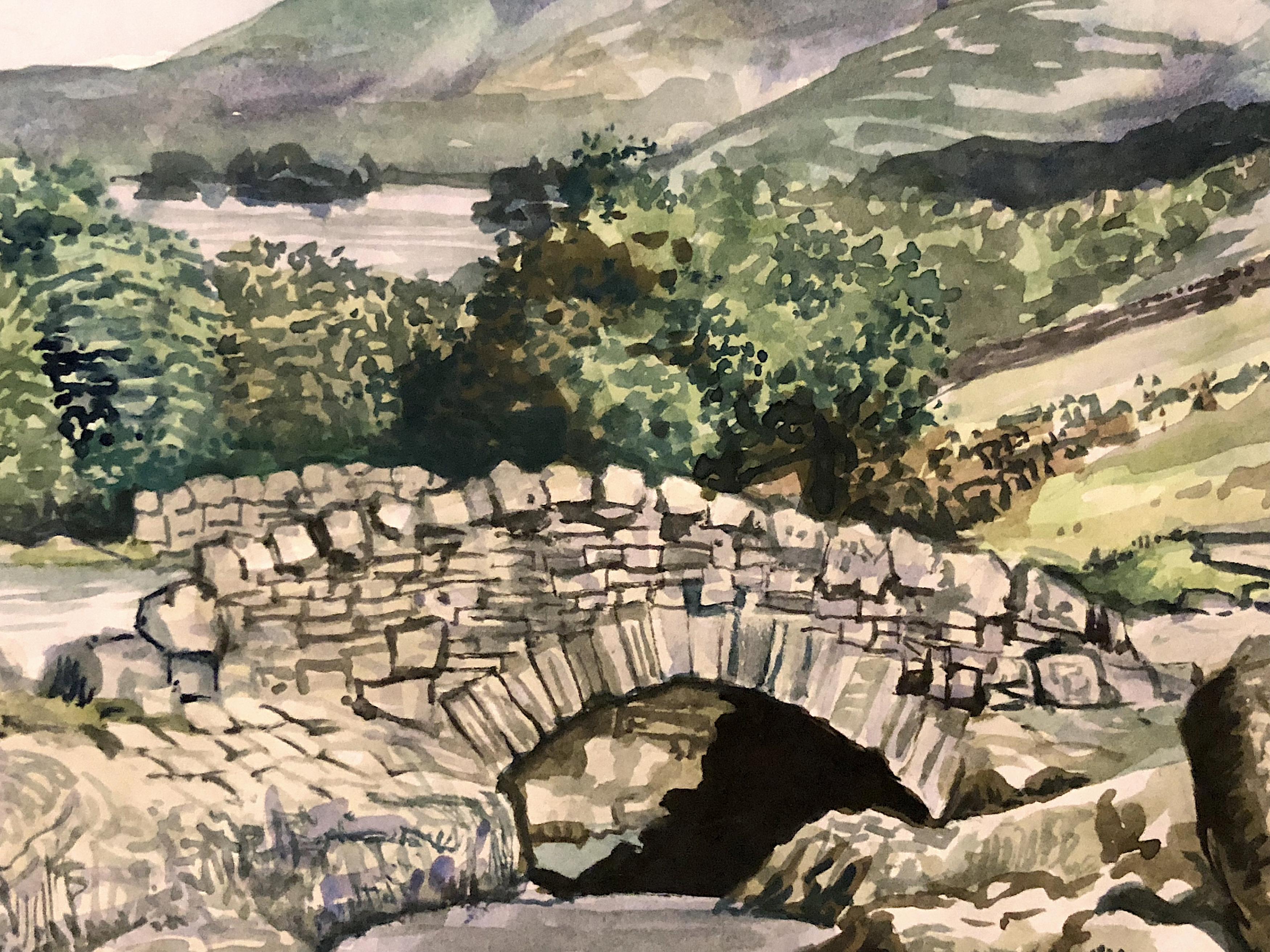 Ashness Bridge in Cumbria