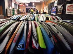 Chattajack boards ready to go