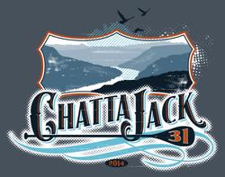 2014 Chattajack tshirt logo