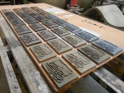 custom concrete trophies