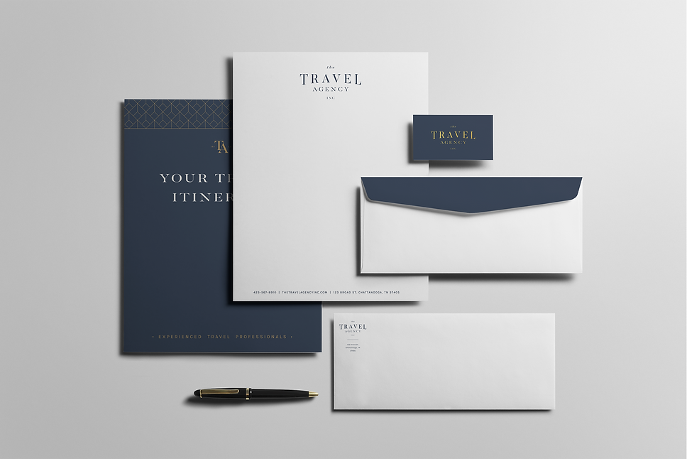 branded stationary set