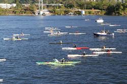 Heat 2 - surfski & kayak start