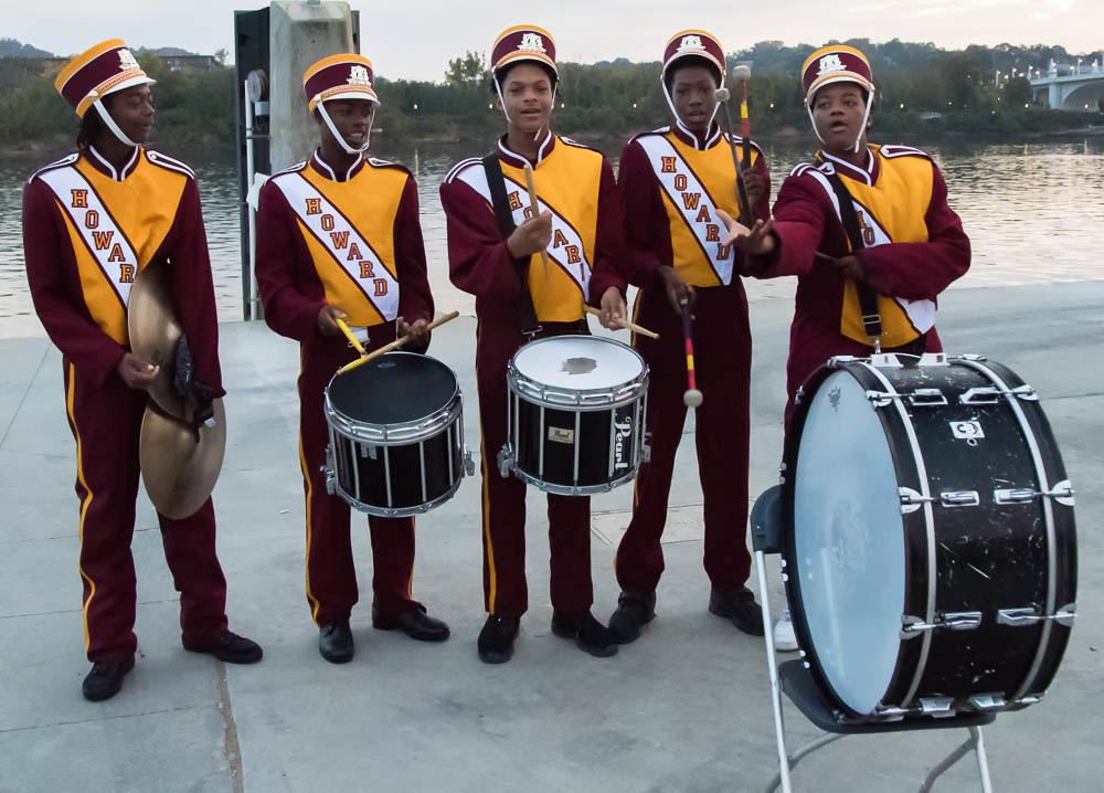 Local highschool marching band