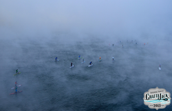 Chattajack Paddlers in the fog