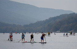 Chattajack paddlers on the course