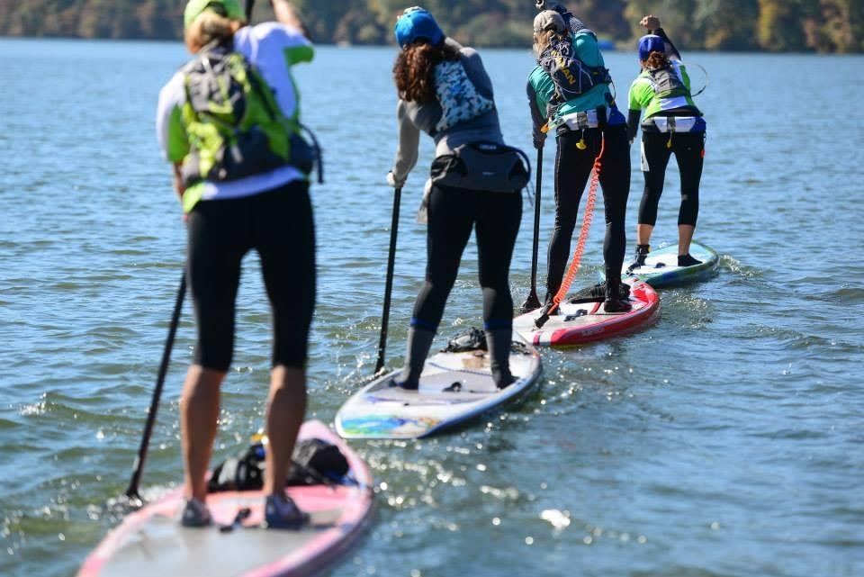 2014 womens 12'6 SUP draft train in the gorge