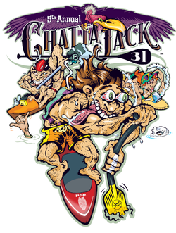 Chattajack cartoon logo 2016