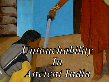Untouchability In Ancient India
