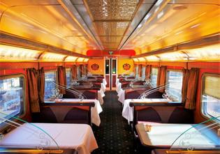Gold class dining car