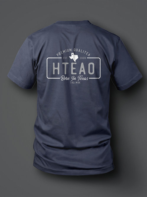 HTeaO License Plate Tee