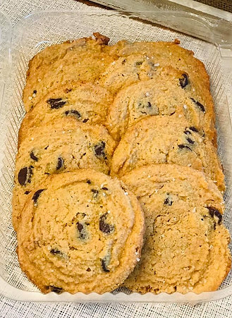 Keto Chocolate Chip Cookies (Dozen)
