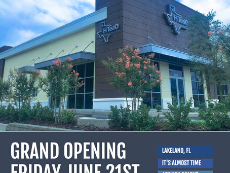 HTeaO Opening First of Many Stores in Florida