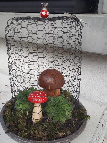 Holzpilz aus Gersau - handmade