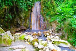 Diamond waterfalls, St. Lucia
