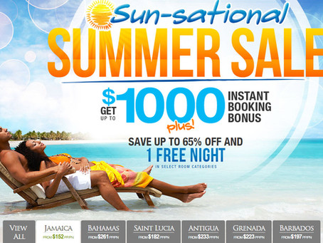 Sandals Summer Sun-Sational Sale!