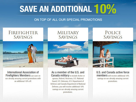 Firefighters, Military & Police Save an additional 10%