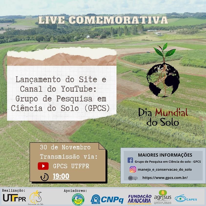 Live de lançamento do canal GPCS UTFPR no YouTube