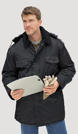 Tough outerwear made for working