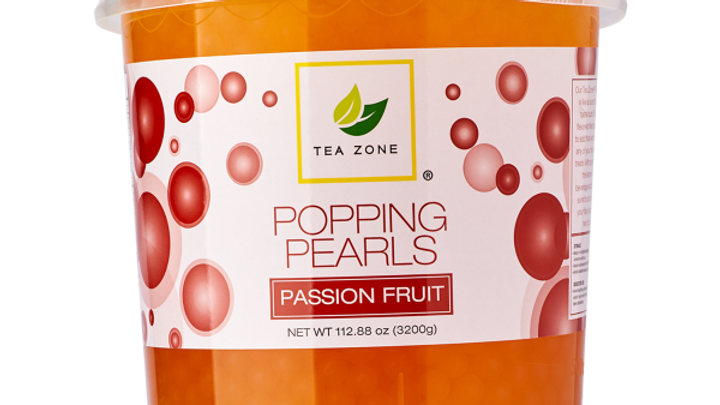 S/O TEA ZONE PASSION FRUIT POPPING PEARLS