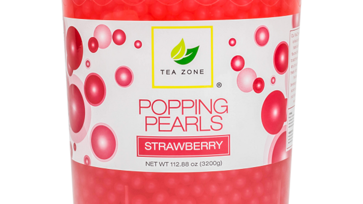 TEA ZONE STRAWBERRY POPPING PEARLS
