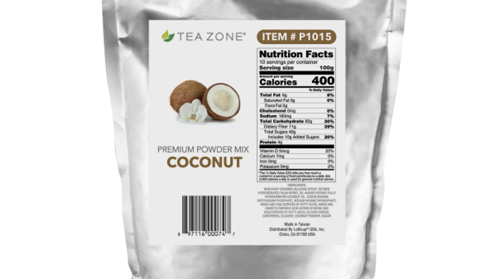 TEA ZONE #1015 COCONUT POWDER (5/CS)