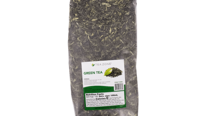 TEA ZONE #T 1020 GREEN TEA LEAVES