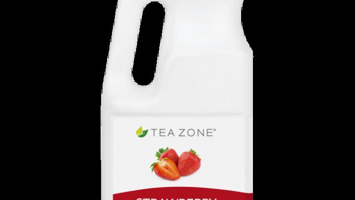 TEA ZONE STRAWBERRY SYRUP (6/CS)