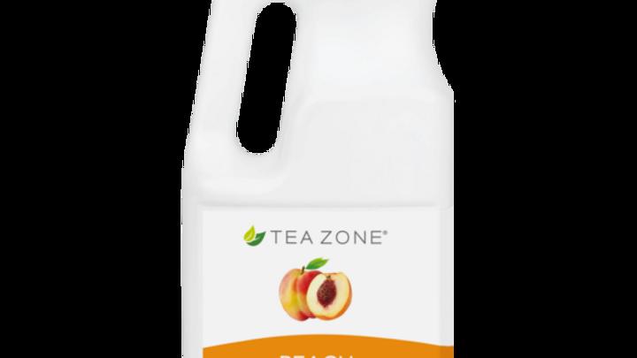 TEA ZONE PEACH SYRUP (6/CS)