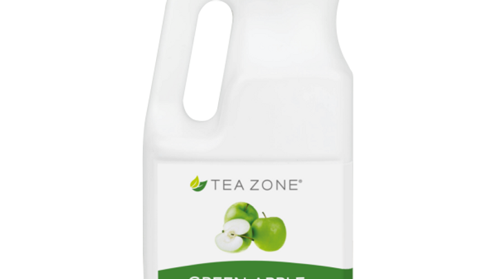 TEA ZONE GREEN APPLE SYRUP (6/CS)