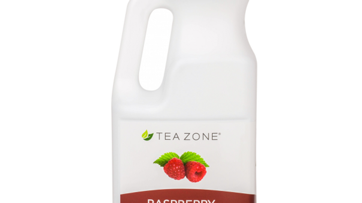 TEA ZONE RASPBERRY SYRUP (6/CS)