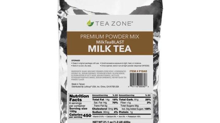 TEA ZONE #P1040 MILK TEA POWDER (12/CS)