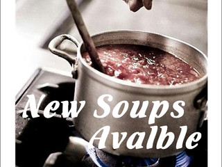 New soups for the winter