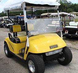 McCarty's Carts Yellow Cart