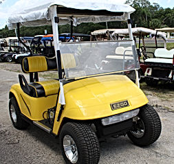 McCarty's Carts Yellow Cart