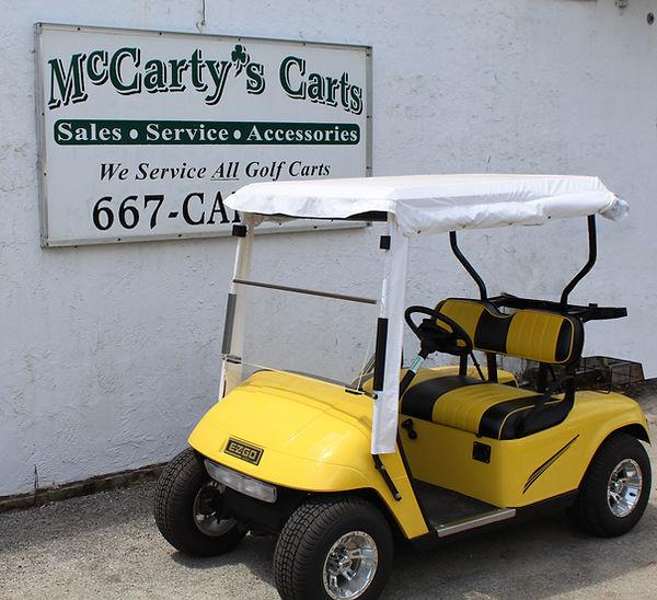 Yellow Cart Against Wall.jpg